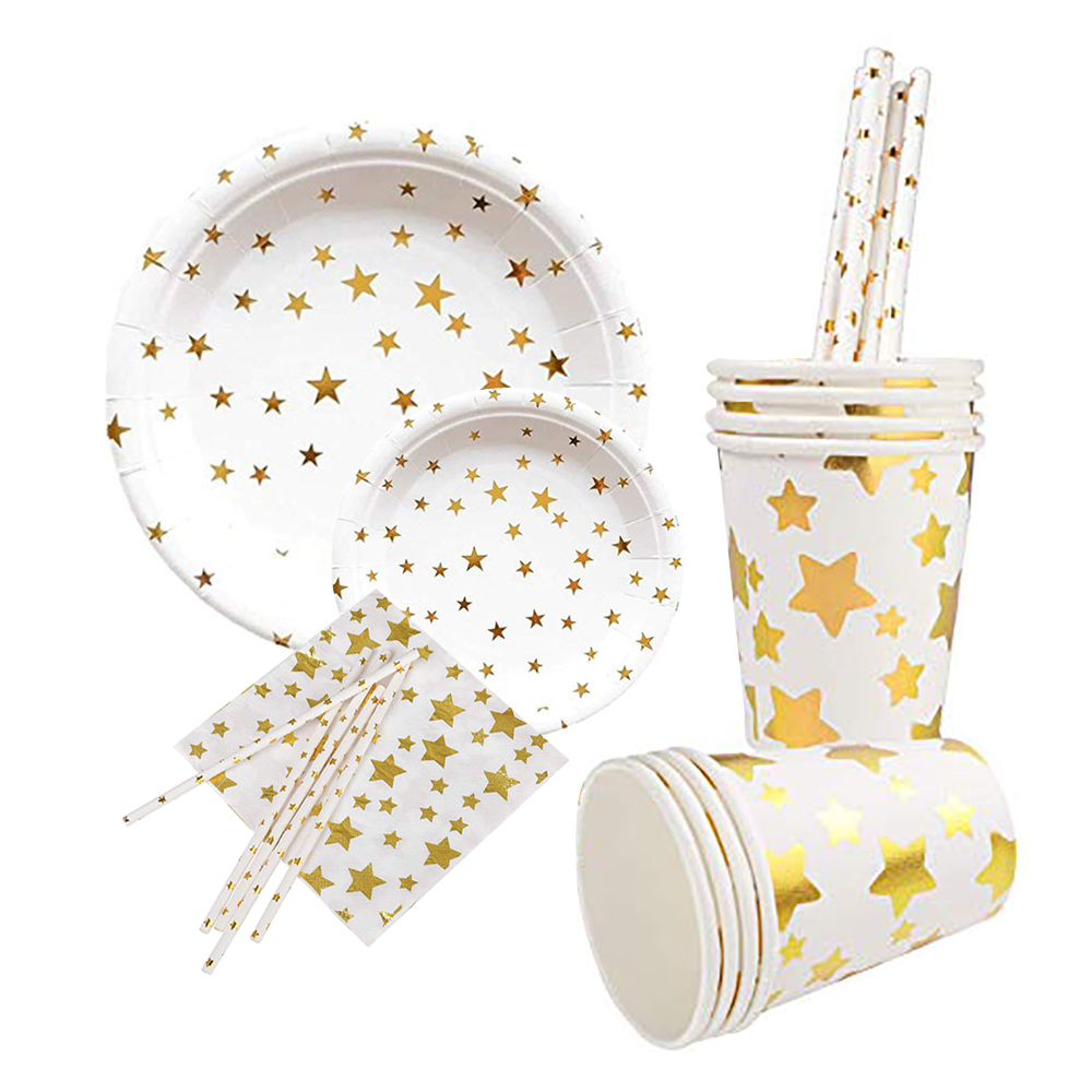 Biodegradable Party Tableware Sets