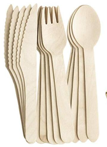 Wood Cutlery Set