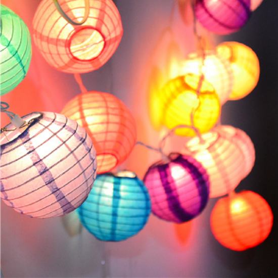 Custom led paper lantern outdoor