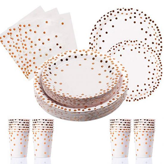 party dinnerware sets