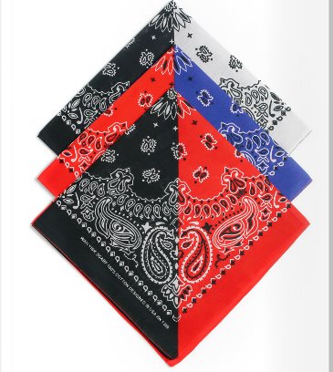 Multifunctional 100% Cotton bandana